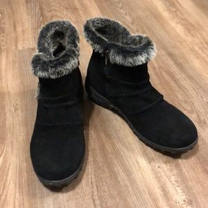 KHOMBU Winter Ankle Boots